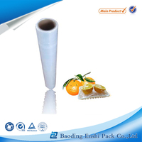 hot sale transparent plastic wrap for food keeping