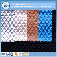 Wholesale Top Quality Polyester Wadding Nylon Ultrasonic Embossing Quilt Fabric in China