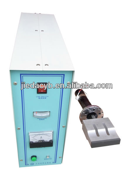 Ultrasonic Generator, Transducer & Horn Used on Non-woven Shoe Covers Making Machine