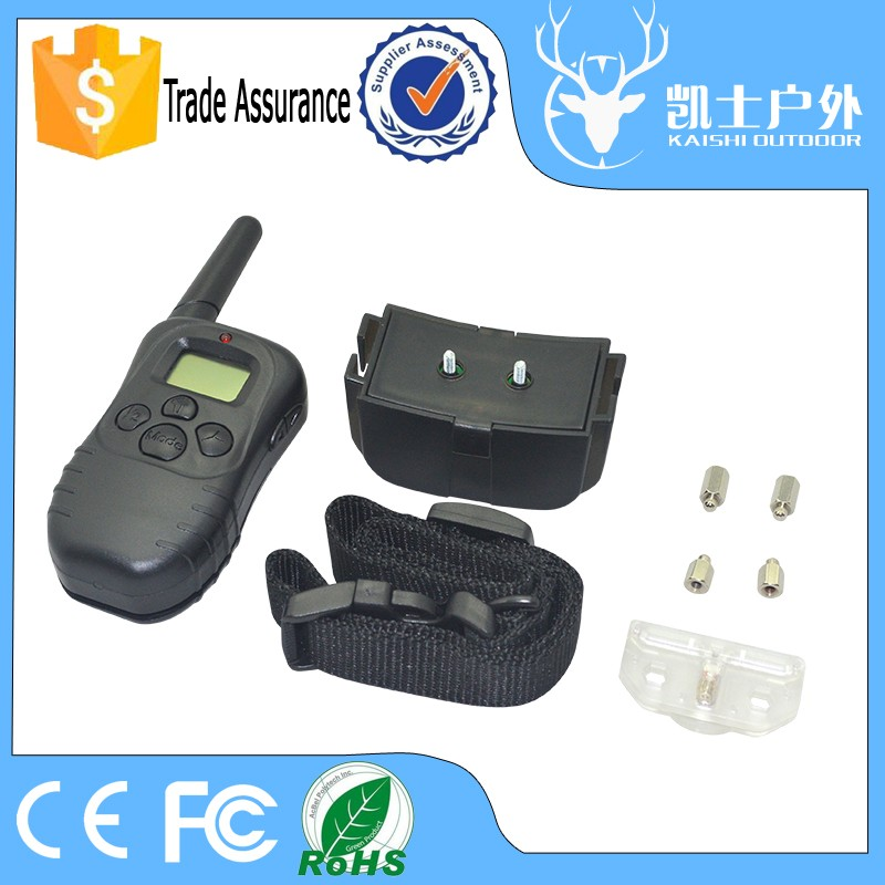 Sport Electronic Static Shock Vibration Train A Dog Collar With 300M Remote Range