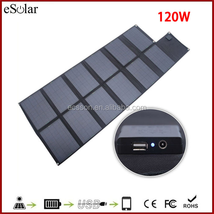2015 hottest polycrystalline solar panel 120w flexible 100 watt folding solar panel
