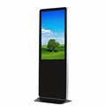 "43"" Super Slim Stand Advertising LCD Signage Totem Display"