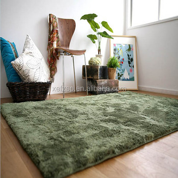 100% Polyester Shaggy Carpet / Rug factory