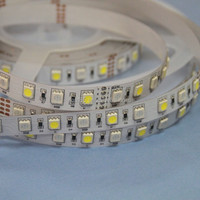 4 Channel RGB LED tape, 1 RGB + 1 white LED, 72 leds/meter, 24VDC, 12MM width, 4 channel, Shenzhen factory