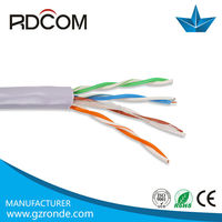 China factory 305m 4 twisted pair lan cable UTP Cat5e cable price list