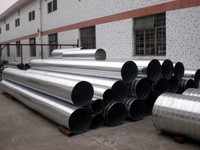 Hot Sell Standard Type Galvanized Spiral Duct For Ventilation System