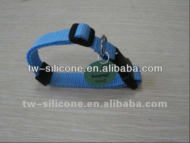 Unique products plain nylon dog collar wholesale