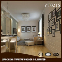 Easy clean hdf valinge click laminate flooring in China