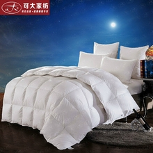 Cotton Fabric Home Textile 100% Wool Filling Winter Wool Comforter Made in China