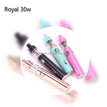 New Products For Distribution Ladies Electronic Cigarette 30w Vape Pen With 1150mah Battery Stick Style Mini Vaporizer Kit