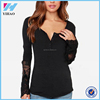 Blusas 2015 Spring Autumn New Women Tops Fashion Lace Long Sleeve O Neck Shirts Female Casual Blouse blusa feminina S-4XL