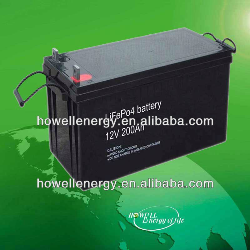 12v 200ah wind power storage battery/12v 200ah lipo battery
