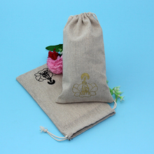 Recycled natural jute fiber beer bottle bag , jute gunny bags sacks