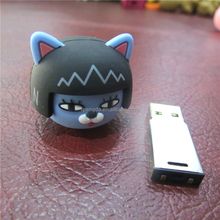 2017 Newest OEM Custom Silicone USB Dust Cover / Rubber Drive Disk,Customized Lovely Cartoon Silicone USB Flash Drive Cover
