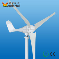 Home use wind power low rpm permanent magnet 500w 600w 24v wind turbine generator