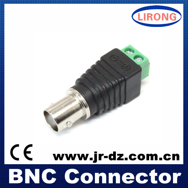 JR cctv accessories bnc plastic connector