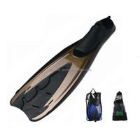 professional water sports shoes flippers/long plate fins/flipper shoes for adult swimmer