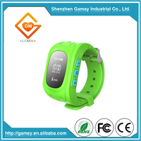 Hot Selling GPS Tracking SIM Card Kids s Q50 GPS Running Wrist Watch for Kids