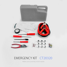 Hot Sale Booster Cable Kit and and Hand Tool Kit for Car Emergency