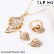 63803-Xuping Costume Find Jewelry New Design Wedding Sets For Women