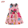 Kids party dresses b2b china children garments manufacturer girl fancy frocks