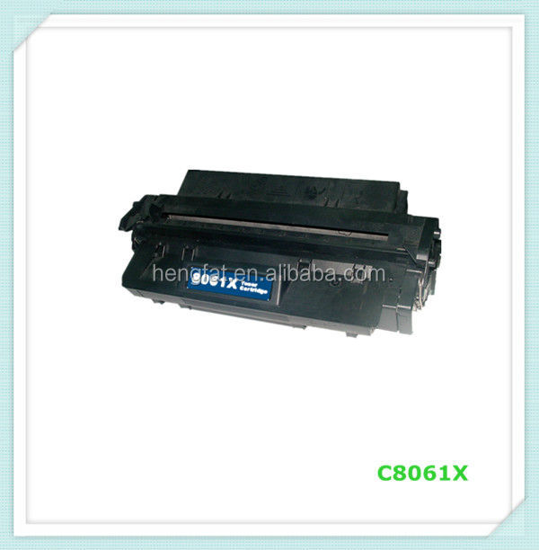 For HP C8061X toner , Compatible Toner Cartridge 61X for HP Printer Series , 24years factory experience in China