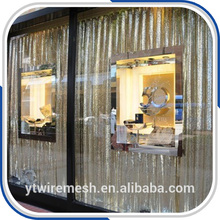 Fashionable and beautiful metallic curtain