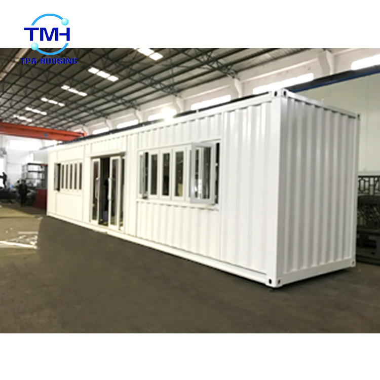 Luxury shipping container log house for prefabricated office