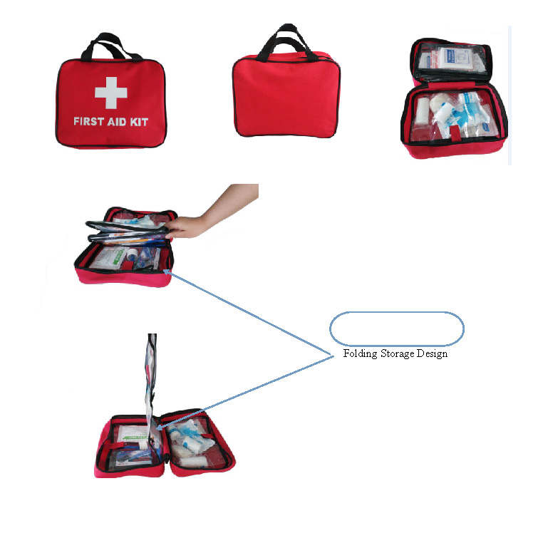 professional manufacture mini small portable first aid kit box for car