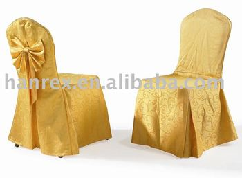 2017 Whole Stretch Banquet Wedding Decoration Yellow Spandex Chair Cover Quality Fashion Xl 9051
