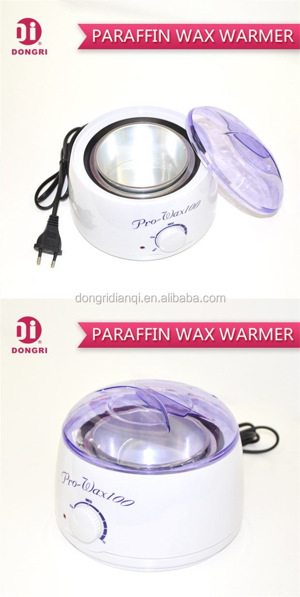 DR-408 100W Hand Care Paraffin Wax Heater Portable For Body Hair Removal With CE Approval And See-Through Transparent Cover