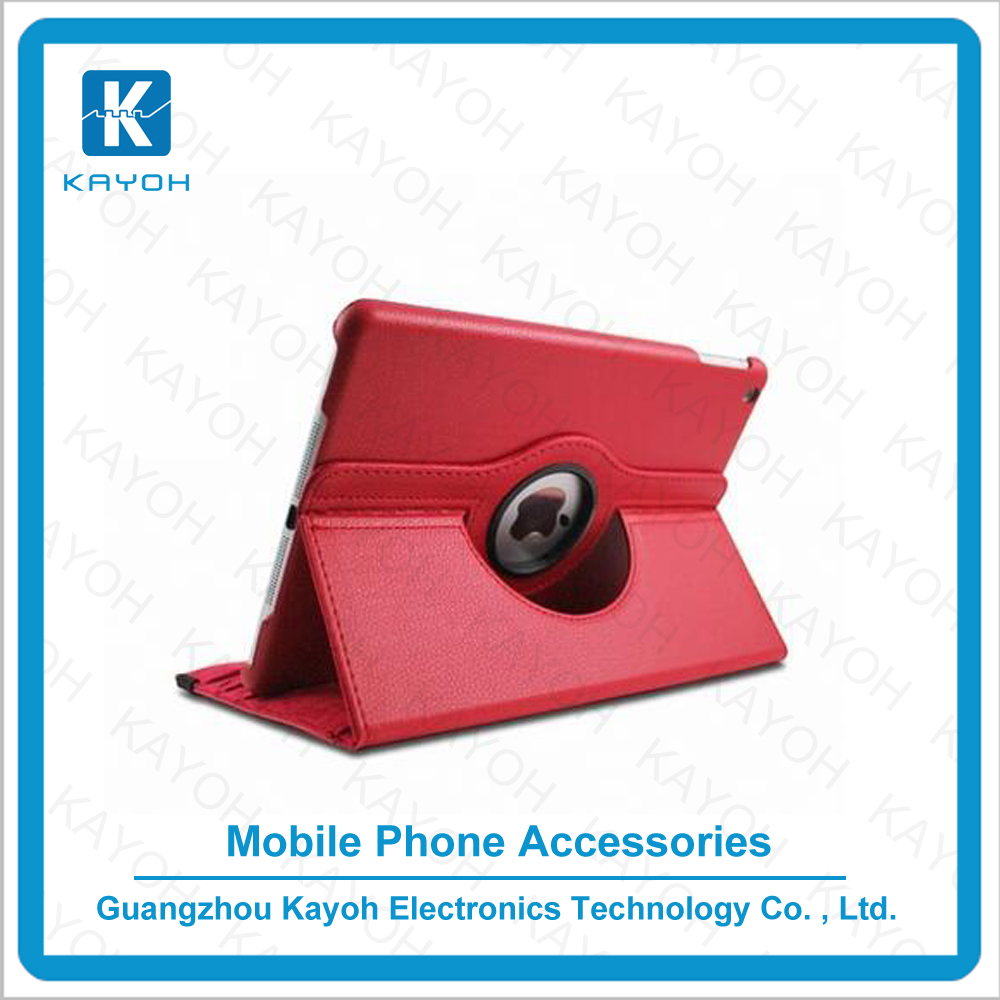 [kayoh] 360 rotating stand case mobile phone accessories for ipad air 2 with 10 colors