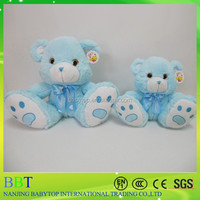 2015 custom plush high quality teddy bear, plush cute animal toy