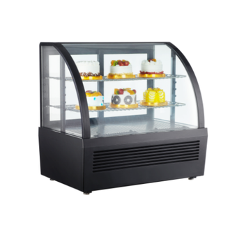 72L To 510L Hot Sale Commercial Glass Counter Cake Display Showcase Refrigerator