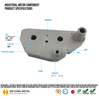 Aluminum Casting parts for car,auto machinery,ship,other custom parts