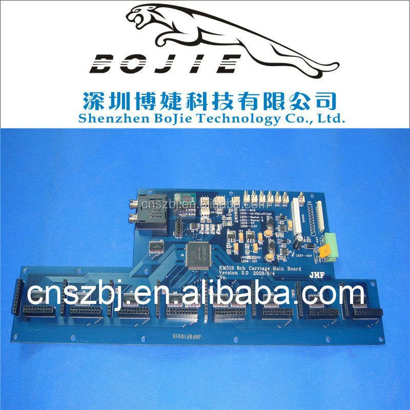 JHF Vista Printer Spare Parts Version 2.0 Konica 512 Carriage Main Board With 8Head
