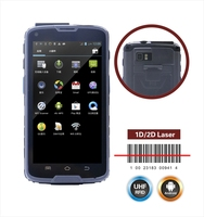 rugged industrial smartphone android tablet PDA / mobile handset with RFID GPS