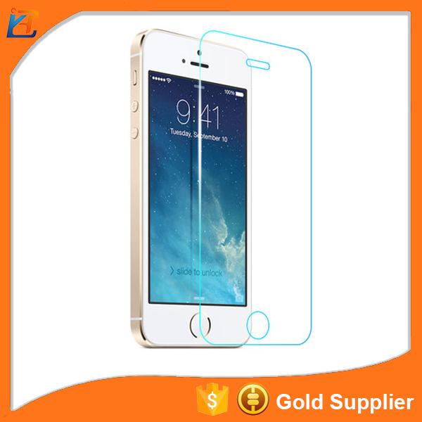 Holographic colored mobile phone anti oil smart touch screen guard saver for iphone 5c