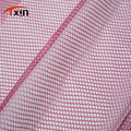 hexagonal 100% polyester fabric knitted netting fabric mesh fabric