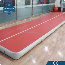Customize color inflatable gym air tumble track for sale