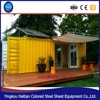 Cheap pre-made solar power container house building shipping living cabin container mobile home with bathroom price