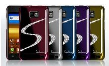 S diamond hard case for samsung galaxy S2 i9100