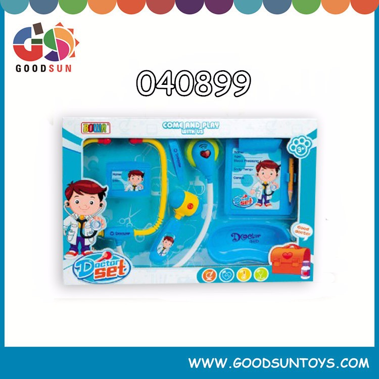 New design family doctor toy/doctor play set toys children doctor toys hospital play