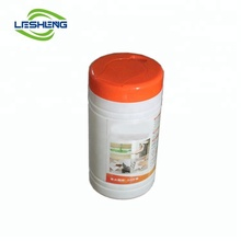60pcs wet wipes for floor in tubs barrel packing