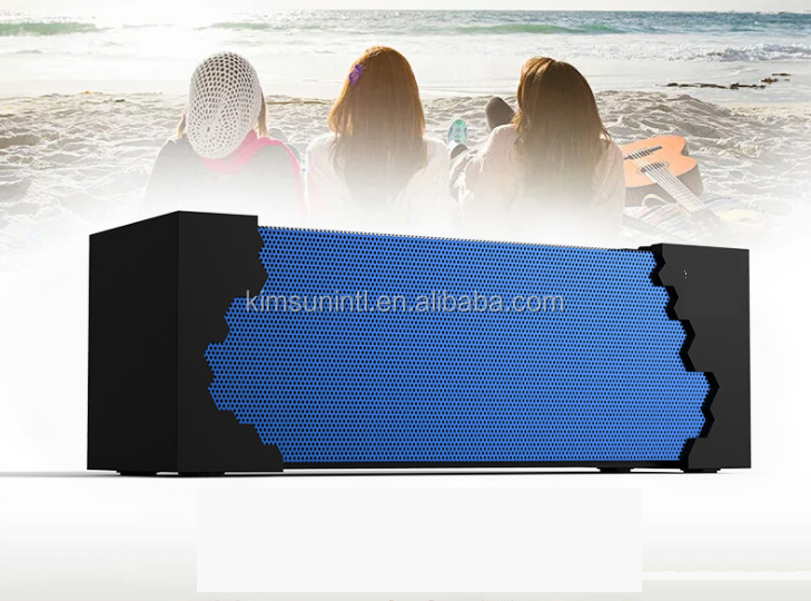 outdoor 10 watt waterproof rohs rugged cube large music angel bluetooth speaker made in china