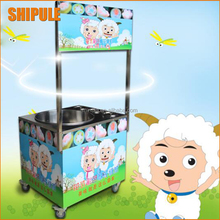 Stainless stainless gas cotton candy machine Mini electric cotton candy maker sugar, Flower cotton candy making machine