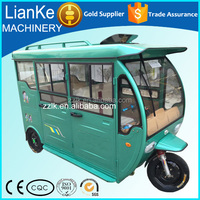 2016 High Quality electric rickshaw passenger tuk tuk tricycle for sale/solar electric tricycle for passenger/electric tricycle