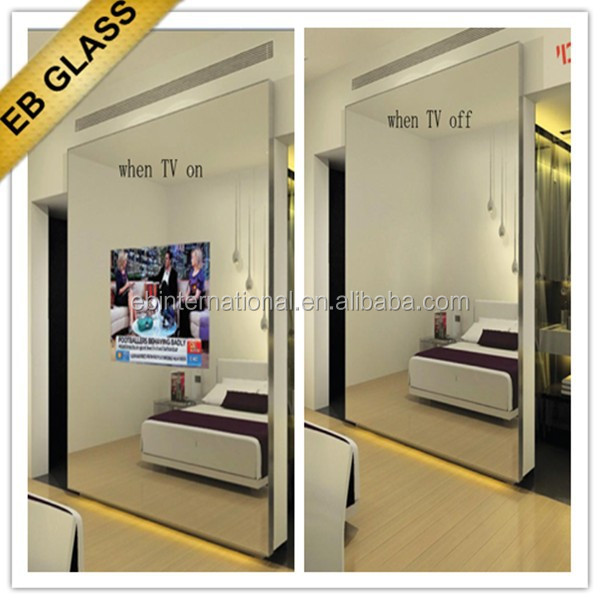 Tempered Glass Mirror For Tv,Flat Screen Tv Behind Mirror Eb Glass Brand    Buy Tempered Glass Mirror For Tv,Flat Screen Tv Behind Mirror Eb Glass  Brand ...