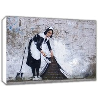 Cheap china wholesale banksy canvas prints, canvas art picture