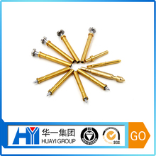 custom male female electrical lock spring loaded pogo pin connector probe pins